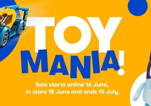 Big W Toy Mania Sale