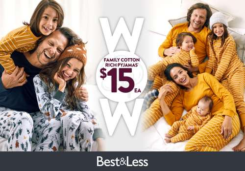 Snuggle up in style with Best & Less